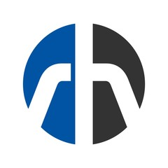 h and r logo vector