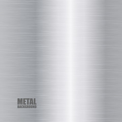Silver brushed texture background