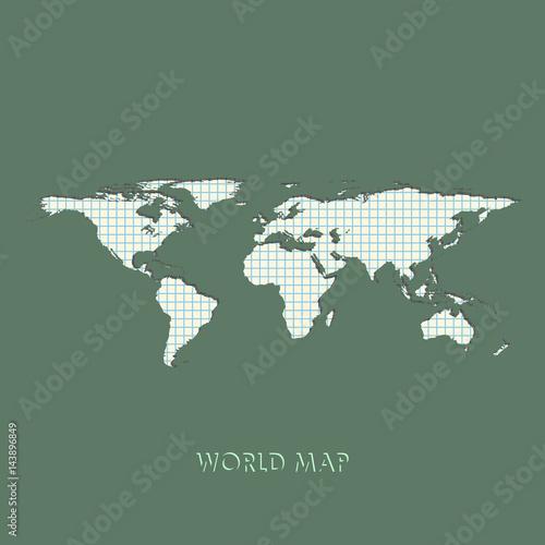 World map vector illustration mollweide projection worldmap world map vector illustration mollweide projection worldmap gumiabroncs Gallery