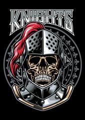 Skull of Knight Warrior
