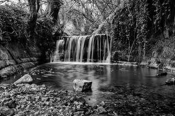 Dorset waterfall.