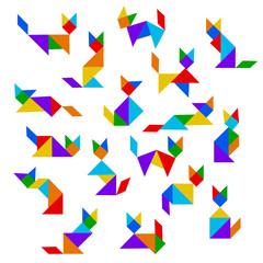 Resultado de imagem para tangram