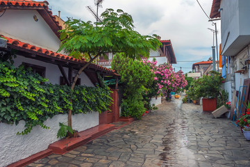 Streets of Ouranopolis