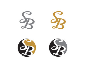 Letter S and B Logo Icon 1