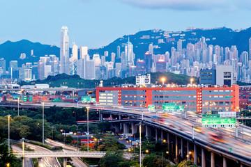 Kwai Tsing Container Terminals. Hong Kong