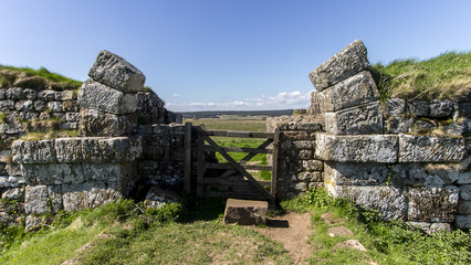 Mile Castle 37 - Hadrian's Wall near Steel Rigg in Northern England