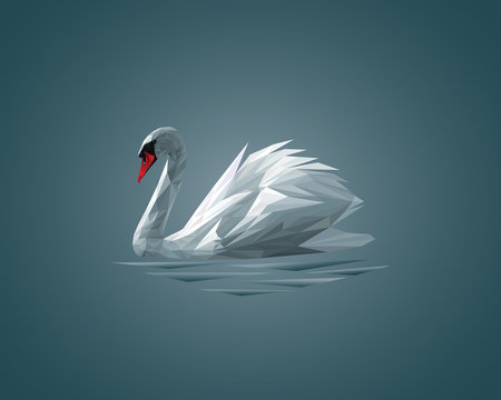Low Poly Swan