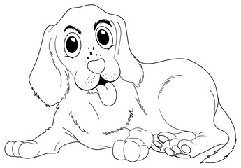 Doodle animal for cute dog