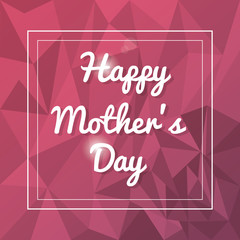 happy mothers day card abstract background vector illustration eps 10