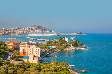 Kusadasi Harbor - Aydin, Turkey
