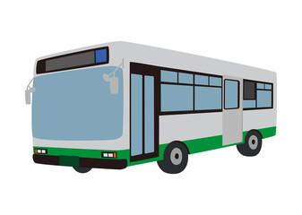 路線バス イラスト