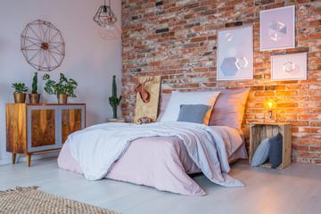 Industrial design of bedroom
