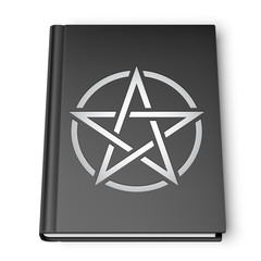 Black Book With Pentagram