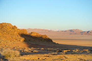 The picturesque landscape of Mongolia, Russia, Altai
