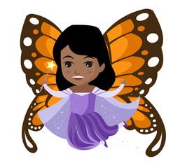 cute tiny african fairy