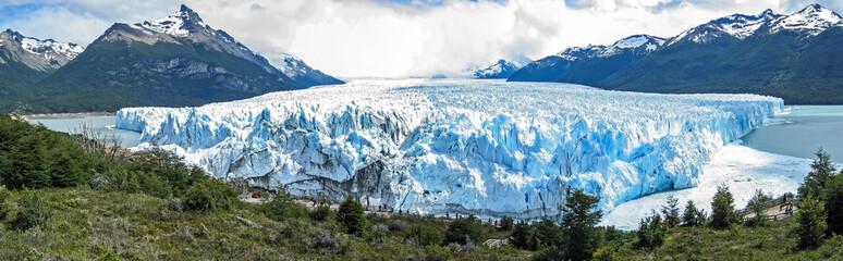 Front of the Perito Moreno glacier. Patagonia Argentina