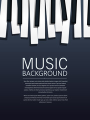 Piano music background