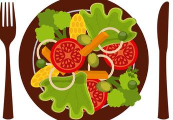 Vegan Plate Logo