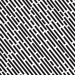 Striped geometric pattern white background vector vintage design with black dashed lines