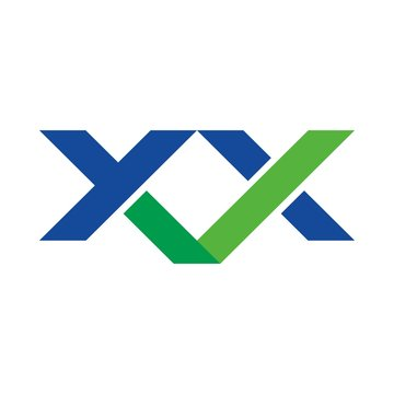 x and x logotype. letter mark. logo vector. icon template.