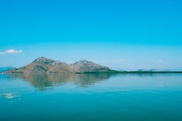 Fotobehang Gletsjers Skadar Lake in Montenegro. The largest freshwater lake in the Balkans.