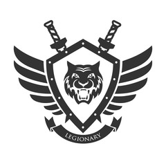 Military symbol, legionary's badge.
