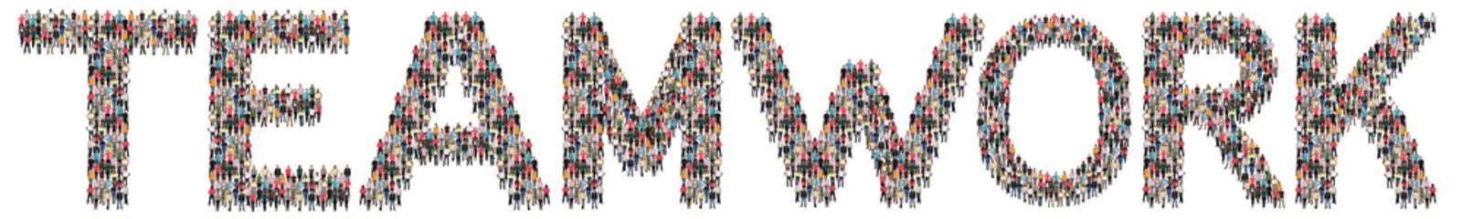 Teamwork Team Erfolg erfolgreich gemeinsam zusammen Leute Menschen People Gruppe Menschengruppe