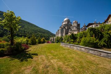 Il Santuario della Madonna del Sangue, Re, Val Vigezzo, Verbania, Ossola, Piemonte, Italia