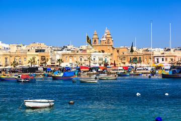 Port of Marsaxlokk,  Malta
