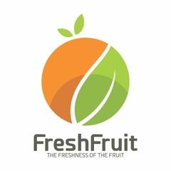 Fresh Fruit Nature Vegetable Logo Vector