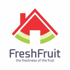 Fresh Fruit Nature Vegetable Logo Vector
