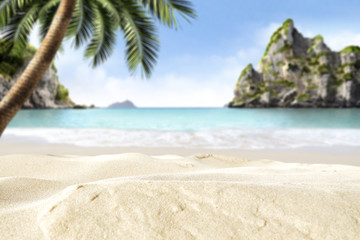beach background for your decoration
