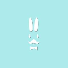 rabbit icon illustration