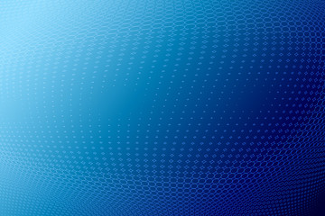 blue halftone background, illustration with copy space