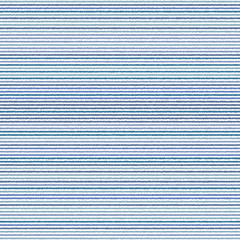 Abstract vector wallpaper with horizontal blue and white strips. Seamless colored background. Geometric pattern