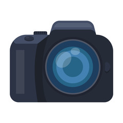 Camera detective. Camera, for shooting the scene, and to commit murder.Detective single icon in cartoon style vector symbol stock illustration.