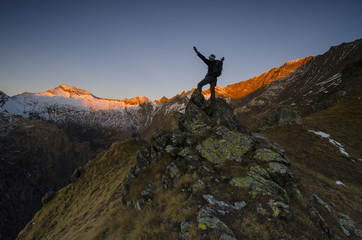 Sunrise (Soana Valley, Gran Paradiso National Park, Piedmont, Italy)