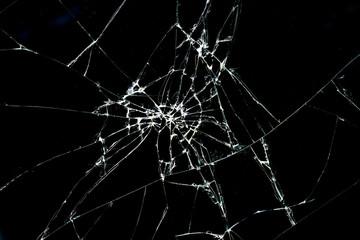 Obraz Brokan black glass - fototapety do salonu