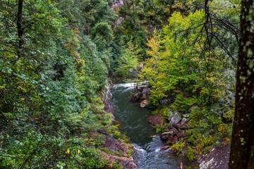 Tallulah River through Tallulah Gorge