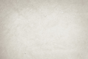 old  recycled white paper texture or background