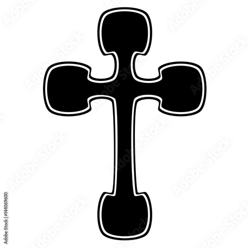 Tribal Cross Tattoo Designs And Meanings Vector Sketch Of A Tattoo