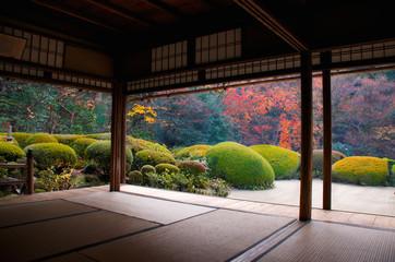 Poster Kyoto Shisendo temple garden