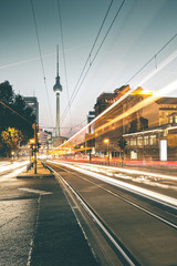 Aluminium Prints Berlin Evening Glow around Prenzlauer Berg - Berlin