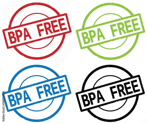 bpa free text on round simple stamp sign stock photo and royalty free images on. Black Bedroom Furniture Sets. Home Design Ideas