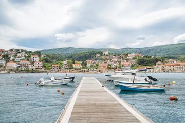 Jelsa city on Hvar, Croatia