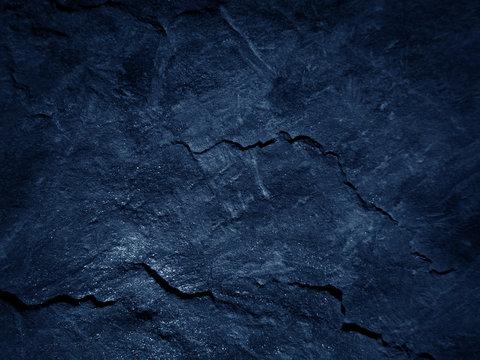 Dark blue black slate background
