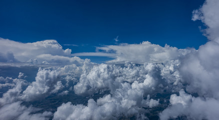 Cloud from the plane