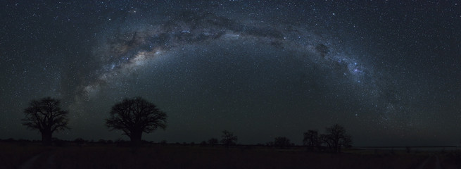 Full Milkyway at Baines Baobab's