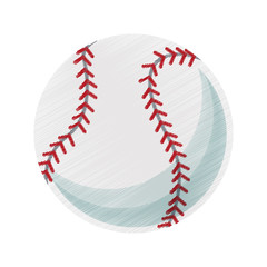 baseball ball icon image vector illustration design