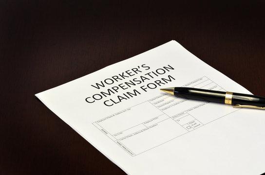 Worker's Compensation Claim Form Application